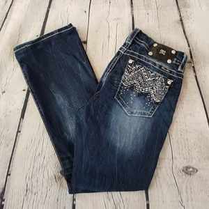 Miss Me   mid-rise Easy Boot jeans size 33